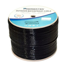 1000ft CAT6 UV/CMX 23 AWG Waterproof Outdoor Direct Burial Solid Network Cable