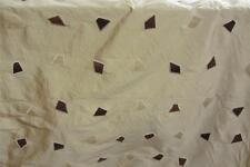 100% Pure Silk Gold Jewel Curtain fabric 7.65m