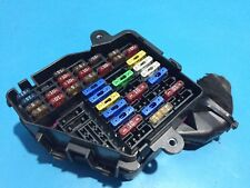 Skoda Octavia 1.9 TDI Fuse Box and Fuses