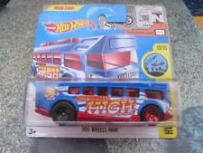 Hot Wheels 2017 #093/365 HOT WHEELS HIGH blue HW City Works Bus