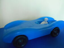 AUTO DA CORSA VINTAGE PLASTICA n.28 Blu - 30cm