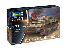 PzKpfw II Ausf.L LUCHS (Sd.Kfz.123), Revell Militär Modell Bausatz 1:72, 03266