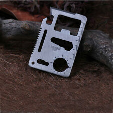 Practical 1PC Outdoor Survival Tool Multi-Function Razor Sharp Wallet Knife Card