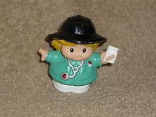 Fisher Price Little People Paramedic EMT Nurse Sarah