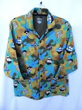 4b3590dcaf Nick   Nora L Large Cotton Flannel Pajama Sleep Shirt Top Skull Pirates  Treasure