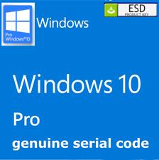 Microsoft Windows 10 Pro con Chiave di Licenza Instant & Genuine Windows 10 Pro