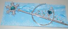 NEW Ice princess blue tiara and wand set childrens party fancy dress hen do stag