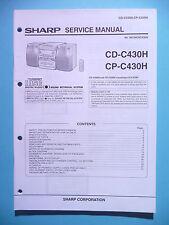 Service Manual-Anleitung Sharp CD-C430H/CP-C430H ,ORIGINAL