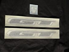GT DECALS BLACK MOUNTAIN BIKE BICYCLE MTB STICKERS NOS VINTAGE