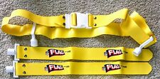 1 NEW OFFICIAL NFL FLAG FOOTBALL BELT - BRIGHT YELLOW