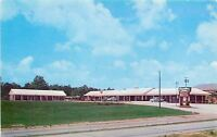 Marietta GA~Travelers Haven MotelOwners~US41~1957 Cars~$4 plus Tax~Postcard