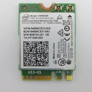 INTEL 3165NGW Wireless-AC 3165 PCI Express M.2 NGFF Wlan Modul + Bluetooth 4.0 8