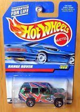 Hot Wheels Range Rover [Metallic Green/Union Jack] - New/Sealed/XHTF [E-808]