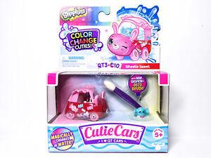 Shopkins Cutie Cars QT3-C10 Wheelie Sweet Color Change Cuties Series 3 New
