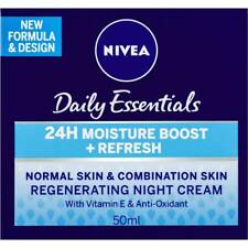Nivea Daily Essentials Regenerating Night Cream 50ml Normal Combination Skin