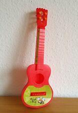 Spielzeug Gitarre rot  41 cm lang