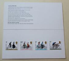 GB 1978 CYCLING HARRISON PRESENTATION PACK MINT STAMPS SG1067-1070 SCAN # 1427+