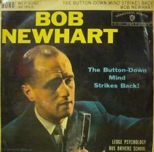 """Bob Newhart(7"""" Vinyl)The Button-Down Mind Strikes Back!-Warner Bros-WEP-VG/Ex"""