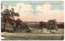 AK US Stati Uniti post card Country Club Louisville andate 1918