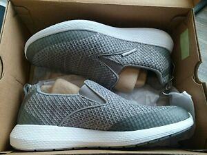 Mens Skechers (New) Grey KULOW Whitewater Slip On shoes UK Size 8