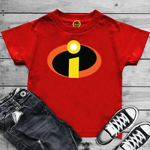 The Incredibles Superhero T Shirt Disney Pixar Funny Joke Birthday Gift Kids Top