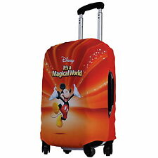 """Mickey Mouse Luggage Protector Elastic Suitcase Cover 18''- 20"""" y64 w0033"""