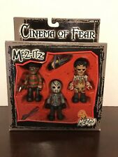 MEZCO - MEZ-ITZ -CINEMA OF FEAR - FREDDY -LEATHERFACE - JASON VOORHEES #80140