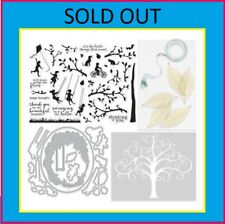 NEW Hero Arts My Monthly Hero MAY Kit Stamps Dies Family Tree Swing Silhouette