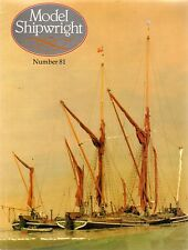 Model Shipwright No 81  (Conway 1992 1st) with Modellers Draught plan
