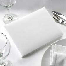 Plain White Guest Book - Can be Decorated for Wedding or Party