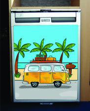 Waeco CRX50 / Dometic Vinyl Fridge Sticker Wrap Print - Camper Van
