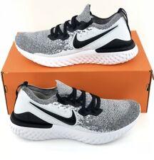 Nike Epic React Flyknit 2 Oreo Women's Running Shoes Black White BQ8927 102