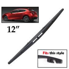 Rear Windshield Wiper Blade Fit For Mazda 3 / Sport 2014 2015 2016 2017 2018 19