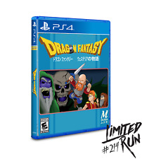 Limited Run #214 Dragon Fantasy PS4 Playstation 4 Region Free Ships in 24 Hours
