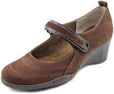 Women's Leather Mary Jane Heels