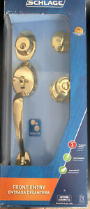 Schlage Single Cylinder Deadbolt Georgian Knob Door Handle Set F60 V PLY 505 GEO