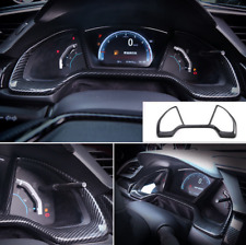 Carbon fiber style Dashboard Decorative Frame For Honda 10th 16-18 Civic