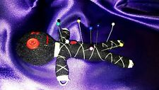 Authentic Voodoo doll real 7 pins guide karma keepers mascot black new orleans