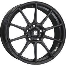 4x Alloy Wheels Sparco Assetto Gara 7x16 Et37 4x100 Matte Black 601