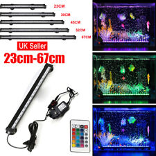 Aquarium Fish Tank LED Light 5050 SMD RGB White Blue Strip Light Bar Lamp Lights