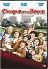 Cheaper By the Dozen  DVD Clifton Webb, Myrna Loy, Jeanne Crain, Betty Lynn, Edg