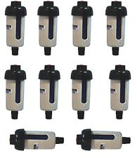 "10 PCS 1/4"" Mini Inline Desiccant Air Dryer Filer Trap For Spray Gun by LEMATEC"