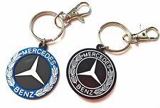 Schlüsselanhänger für Mercedes keyring - Leicht Gummi Emblem 2-seitig