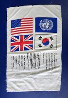 KOREAN WAR PILOT'S SURVIVAL BLOOD CHIT