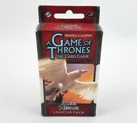 Game Of Thrones Card Game A Dire Message Chapter Pack 2014 CCG Games NEW Sealed