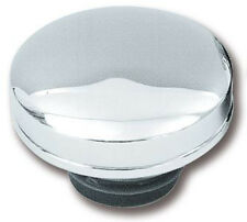 Zodiac Harley  Non Vented Left Side Chrome Late Style Screw-In Gas Cap BC16303 T