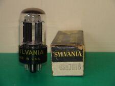 Sylvania 6SN7 GTB  Vacuum Tube (4) Available