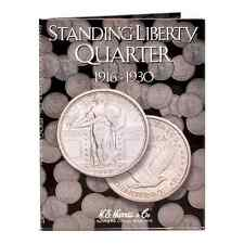 COIN FOLDER - Standing Liberty Quarters (1916-1930) - H.E. Harris #2687