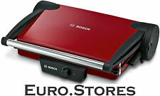 Bosch TFB4402V Contact Grill Red / Anthracite Sandwich Toaster 1800W Genuine New