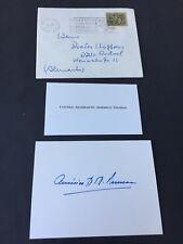 AMERICO TOMAS († 1987) Staatspräsident Portugal signed Konvolut von 1968 RAR